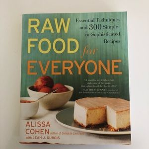 Other - ✨ BRAND NEW Raw Food for Everyone Cookbook